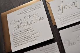 letterpress invitations affordable letterpress wedding invitations to create a fair