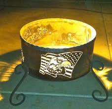 Custom Fire Pit by Personalized Fire Pit Fire Pit Ideas
