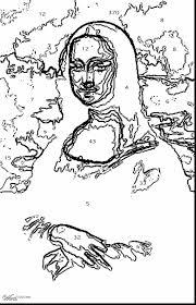 mona lisa coloring page free printable orango coloring pages
