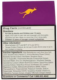 amazon com australian dream back pain cream 4 ounce health