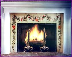 Paint Tile Fireplace by Rainbowhands Hand Painting Tile Decorative Surfaces