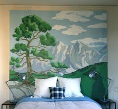 Paint By Number Mural by Glamourtimez At Home With My Design Clients Hommemaker