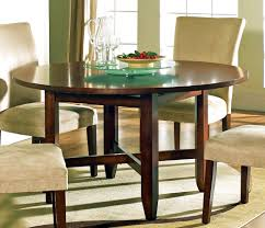 54 inch round dining table with leaf home and furniture