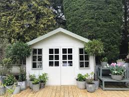 pretty shed garden our summerhouse so far roses and rolltops