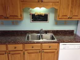 ideas painted laminate formica countertops with double sink and