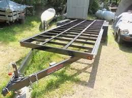 tiny house trailer frame 20 ft tandem axle 6000lb axles ebay