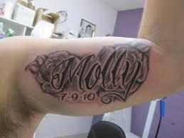 69 stylish letter tattoos designbump