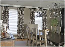 Long Drapery Panels Grey And White Curtain Panels 208