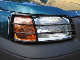 land rover 1999 freelander front light guards black for land rover freelander 1 lamp new ebay