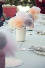 how to use tulle to decorate a table mason jar centerpieces styling your rustic wedding pom pom