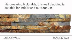 Photo Tiles For Walls Rustic Copper Slate Split Face Tiles Rock Panels Slate Stacked