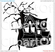 spooky cemetery clipart royalty free rf clipart illustration of a black and white