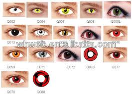 wholesale price crazy eye contacts green color contact lenses