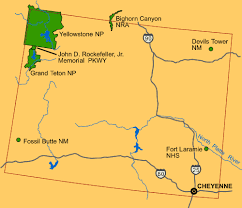 map usa showing wyoming file map wyoming nps usa gif wikimedia commons
