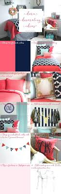 Make Your Own Bedding Set Customize Your Own Bed Set Best Coral And Navy Bedding And Decor