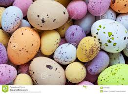 speckled easter eggs speckled candy covered chocolate easter eggs royalty free stock