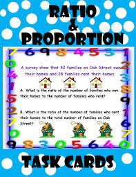 ratio and proportion task cards by moedonnelly teaching
