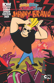 johnny bravo cartoon network super secret crisis war johnny bravo 1 u2013 idw