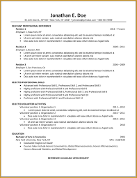 successful resume templates why this is an excellent resume business insider top resume