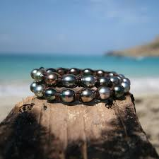 pearls bracelet images Double wrap of 32 tahitian pearls bracelet cultured pearls st jpg