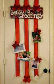 the art of up cycling christmas door decorating ideas fab