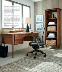 Crate And Barrel Desk Chair Crate And Barrel Office Furniture Sloane Java Leaning Desk With
