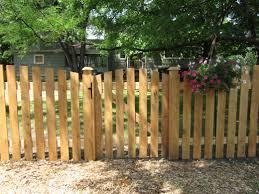 picket fences cedar spaced picket fence cedar rustic fence co