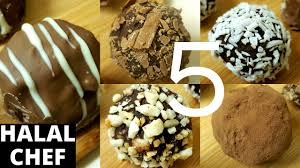 chocolate truffles 5 ways recipe tasty no bake dessert recipe