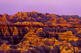 North Dakota national parks images Sunrise big badlands overlook badlands national park south jpg
