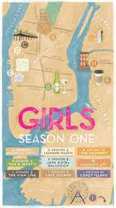 Warwick New York Map by Hbo Created A Fun Map For The First Season Of Girls