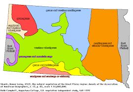 South Dakota vegetaion images South dakota vegetation terms on maps gif