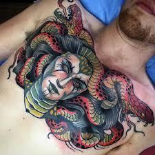 colorful medusa chest best design ideas