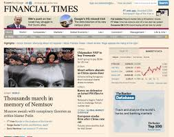 toyota financial website leaked redesign of financial times web site business insider