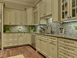 Painting Kitchen Cabinet Painted Green Kitchen Cabinets
