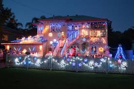Cheap Christmas Decorations Australia Christmas Lights Decorations On A House Queensland Australia