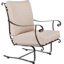 Wrought Iron Swivel Patio Chairs by Bellini Wrought Iron O W Lee