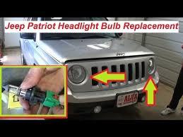2017 jeep wrangler fog light bulb size jeep patriot headlight bulb replacement 2007 2015 youtube