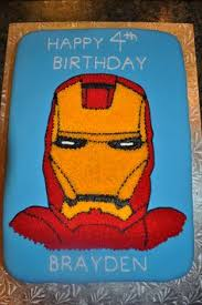 loved this cake for my little boy u0027s iron man party i ordered it