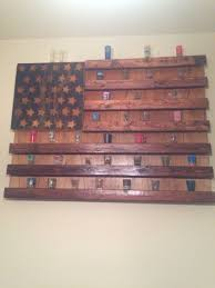 Flag Display Case Plans Rustic American Flag Shot Glass Display Completed Projects