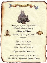 fairytale wedding invitations qty 75 cinderella fairytale castle wedding invitation scrolls