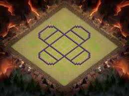 clash of clans dragon wallpaper town hall 8 war base design for 2016
