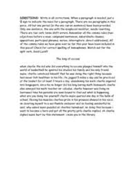 Editing And Proofreading Worksheets Editing And Proofreading Practice 5th 8th Grade Worksheet
