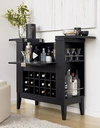 Seaton Bar Cabinet Parker Spirits Ebony Cabinet Towers Bar And Crates
