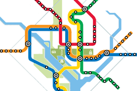Dc Metro Rail Map by Transit Maps