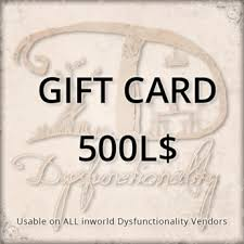 gift card vendors second marketplace ddd gift card 500l usable on 750