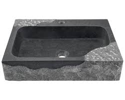 Impala Black Granite Vessel Sink - Black granite kitchen sinks