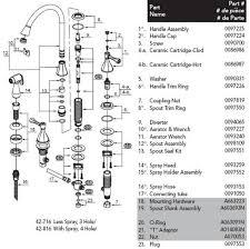 glacier bay kitchen faucet inspiring glar bay knob shower faucet parts diagram teapot spray