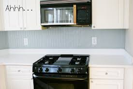 Teal Tile Backsplash by Home Design Beadboard And Tile Backsplash Beach Style Medium