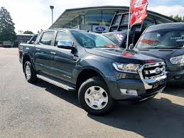 used 2017 ford ranger limited 2 2 manual in sea grey front