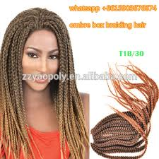 ombre senegalese twists braiding hair ombre color senegalese twist braiding hair 18 inch t1b 30 micro
